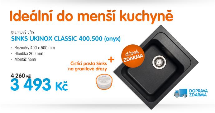 Sinks ukinox classic 400
