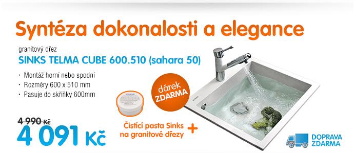 Sinks telma cube 600