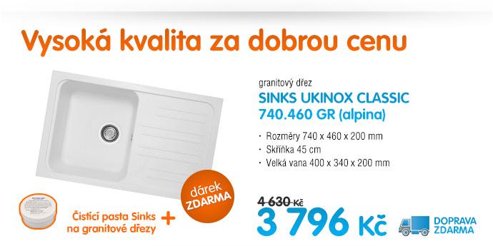 Sinks ukinox classic 740